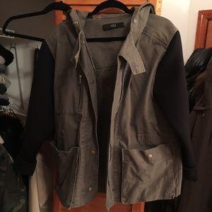 Tibi army green jacket